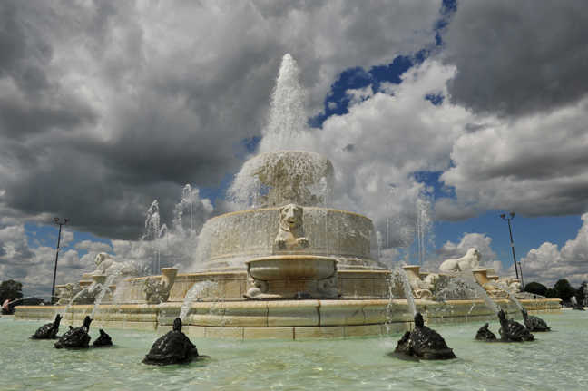 Detroit - Belle Isle fountain