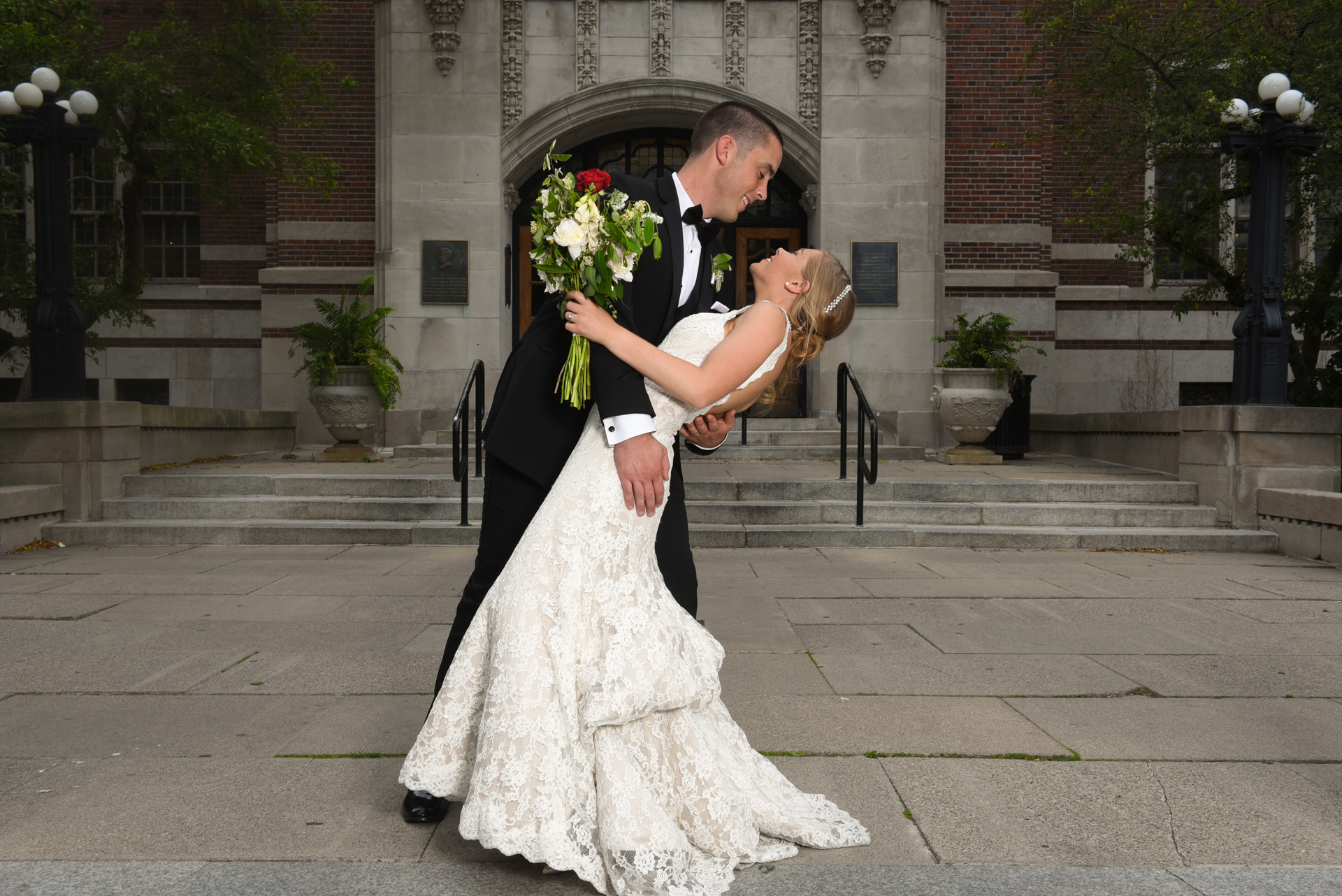University of Michigan Union wedding Ann Arbor