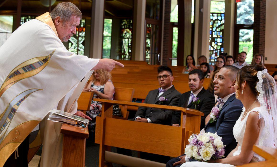 Saint Clement of Rome wedding Romeo Michigan