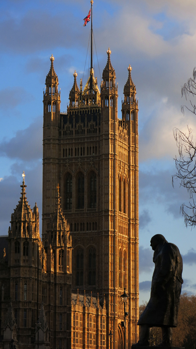 Winston Churchill and Westminster