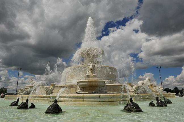 Detroit - Belle Isle fountain