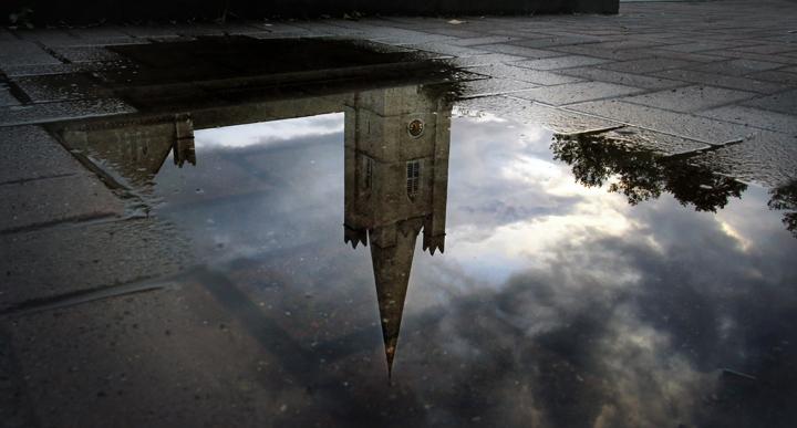Dublin - St. Patrick's reflection