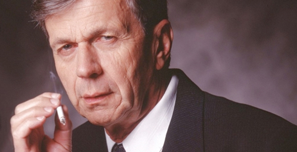 The X-Files' William B. Davis (not to be confused with Ann B. Davis, Alice from the Brady Bunch )