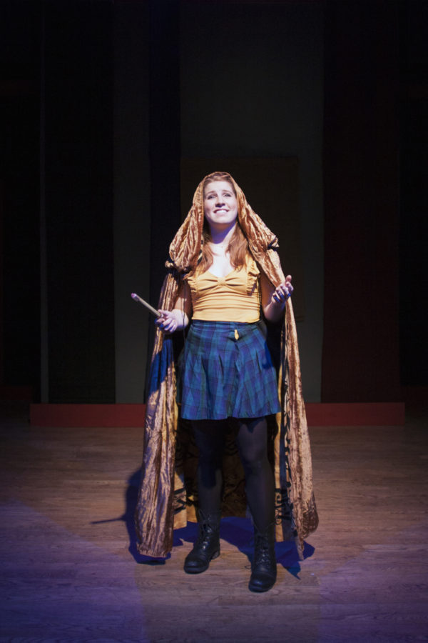 Andrea Miller in her role as Helga.