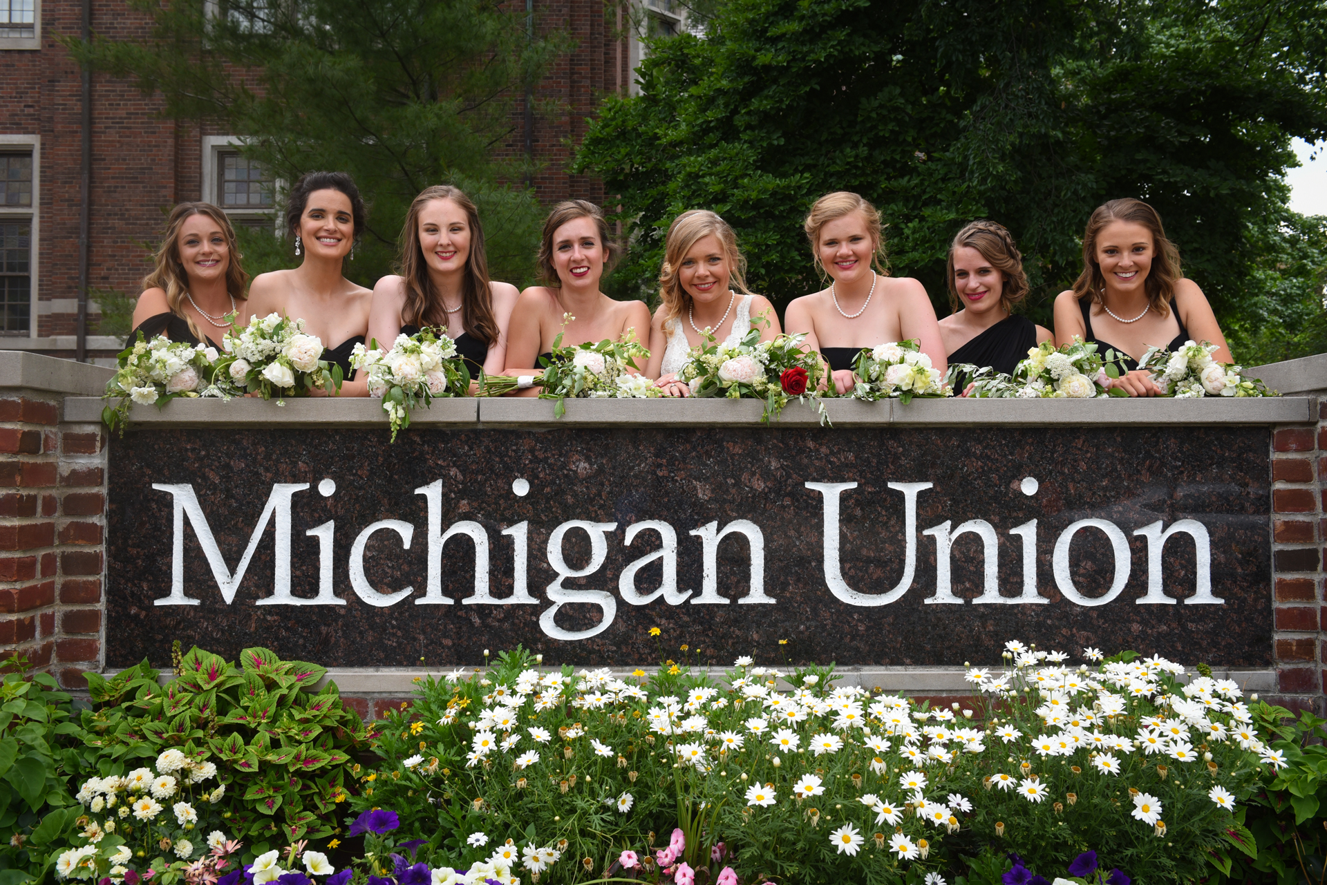 University of Michigan Union wedding Ann Arbor